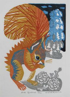 Woodblock print, edition of 100. Unframed, 23 x 16 cm, £130. Framed, 42 x 36 cm, £170 - or spread the cost, interest-free over 10 months with Own Art. Part of The Natural Eye 2020, Society of Wildlife Artists Annual Exhibition, at Mall Galleries from 28 October to 8 November. Browse and Buy the whole exhibition online. #WildlifeArt #Animals #Conservation #AffordableArt #Drawing #Painting Animals Artwork, Woodblock Print, Original Prints, Animal Art, Woodblocks, Beautiful Artwork, Artwork Prints, Animal Art Prints, Art