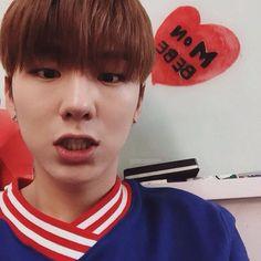 ☓ [160216] Talk Tok Update © Fancafe | #monstax #몬스타엑스  #yookihyun #유기현 #기현 #Kihyun ♡ Bryson Tiller makes me emotional