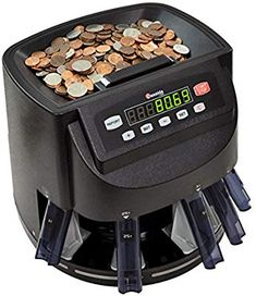 Cassida Coin Sorter Counter and Roller Paper Coin Wrappers Money Counter, Counting Coins, Digital Coin, Roller, Thermal Printer, Dollar Coin, Us Coins, Change, Ideas