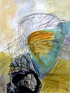 Paint Solo 7 by Jane Davies