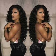 Sexy wave hair #hairfashion #wigfashion #wigslayed #onfleek #flk #wiginstall #hairgoals #fulllacewig #360wigs #africanamericanhair #fulllacewigs #beautifulhair #silktopwigs #humanhairwigs #hair #wig #lacewigs #lacefrontwigs #gluelesswig check http://ift.tt/1OQhNEc for more