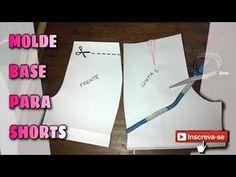 Como Fazer um Shorts Aula de Corte e Costura - Costure em Casa Short Social de forma Profissional - YouTube
