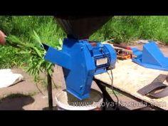 Универсальный измельчитель 3 в 1 (зернодробилка, стеблерезка, корморезка) - YouTube