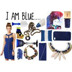 """I Am blue....."" by fredrick-prince on Polyvore"