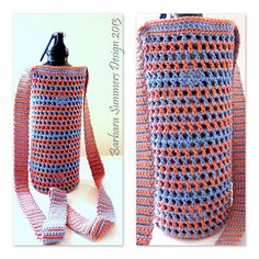 """NEW! Crochet Water Carrier JIMMY. Click on """"WATER CARRIER CROCHET PATTERN"""" for pattern. ☀CQ #crochet #crafts #DIY 8/04/13"""