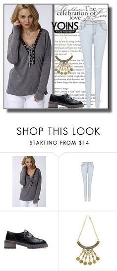 """YOINS-4"" by dzemila-c ❤ liked on Polyvore featuring yoins, yoinscollection and loveyoins"