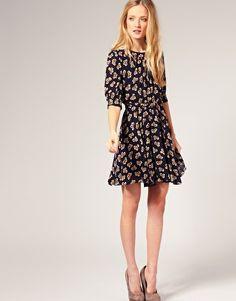 whistles bow dress