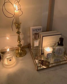Newest Pictures Scented Candles aesthetic Concepts Genuine happiness along with contentment instead vary depending as you go along you decide to do ele Aesthetic Room Decor, Beige Aesthetic, My New Room, My Room, Room Ideas Bedroom, Bedroom Decor, Bedroom Candles, Vanity Decor, Room Inspiration
