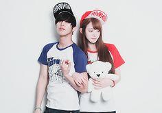 Park Ji Ho & Ryu Hye Ju.