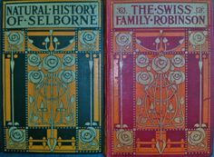Natural History of Selborne/The Swiss Family Robinson - bindings by Talwin Morris