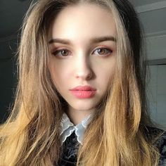 Karimova Elina La imagen puede contener: 1 persona, selfie y primer plano Beautiful Girl Image, Beautiful Lips, Most Beautiful, Beautiful Women, Beautiful Things, Asian Cute, Pretty Asian, Girl Celebrities, Cute Beauty