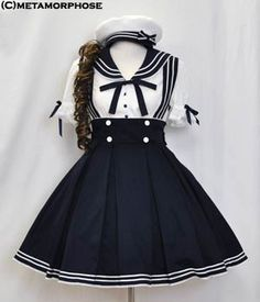 Sailor Lolita hermoso coordinado