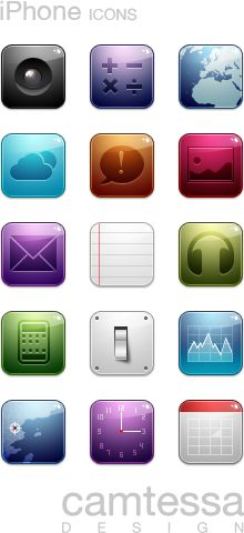 CMT iPhone icons by ~RuizDesign on deviantART