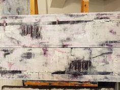 2 Acrylbilder 30 cm x 110 cm