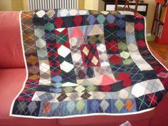 patchwork coperta old america