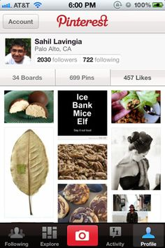 Pinterest App- great for grocery shopping for your pinned recipes! Downloaded and used it in 3 stores today!