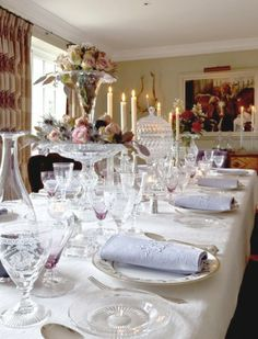 Great Gatsby Interiors |  Set the table in style & party like it's the 1920's