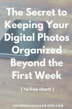 The Secret to Keeping Your Digital Photos Organized! | Want to regain control over you digital photos? A good workflow will be your new best friend! Click through to read how to set it up! >>> #digitalphotographyprojects