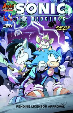 Sonic takes the lead in the race to fix the planet! Sonic and the team link up with Lupe to destroy one of Dr. Eggman's super badniks! How does this tie into fixing the shattered world? And just what