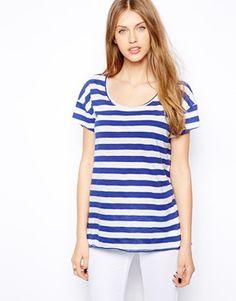 Mango Stripe T-Shirt