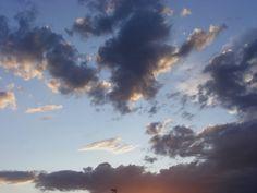 nuvole rosa e viola