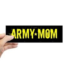 Army: Mom (Black & Gold) Sticker (Bumper) designed by Lots of different size and color combinations to choose from. Army Gifts, Military Gifts, Army Mom, Bumper Stickers, Troops, Black Gold, Amp, Bumper Stickers For Cars