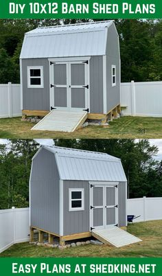 Barn sheds offer the most storage space and the shed plans I offer have huge lofts. The diy plans come with detailed building manual, materials list, email support, and a 3d interactive model you can use to see what your shed is going to look like in your backyard before you build!