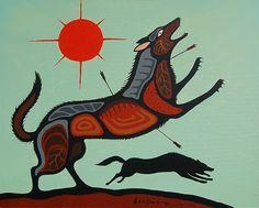 the Wolf can become vindictive Native American Photography, Make Love, Woodland Art, Nativity Crafts, Native American Artists, Canadian Art, High Art, Aboriginal Art, Native Art