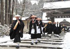 Buddhist Monks in Japan