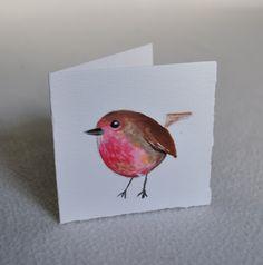 Con cada canastilla regalamos una tarjeta pintada a mano para acompañar tu regalo