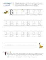Free letter tracing worksheets to help children learn to write each letter of the alphabet