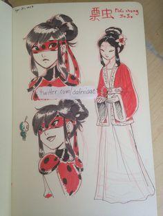 Ancient Asian style Ladybug