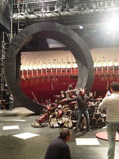 L'allestimento del Faust - backstage - #beautiful #fashion #love #dress #inspiration #style #pinterest #instagood #instacool #opera #singers #theater #music #house #fashion #nofilter #amazing #makeup #colorful