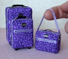 Mini luggage! What on earth would this be useful for? But look how cute!