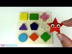 figuras geometricas para niños   Toysurprise - YouTube