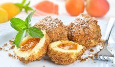 Summer in the Wachau - Wachauer Marille desserts Hungarian Cuisine, Hungarian Recipes, Yummy Treats, Yummy Food, Austrian Recipes, National Dish, Dumpling, Finger Foods, Love Food
