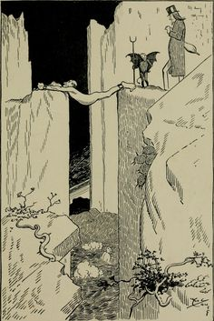 From Through Hell with Hiprah Hunt by Art Young, 1901. Abecedarian : Restoring the Lost Sense