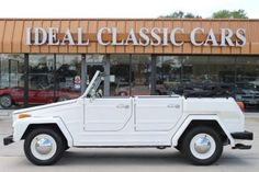 1974 Volkswagen Thing. The Thing! I love it! I want a light blue one like Bay's on Switched at Birth minus the snake sea creature stuff