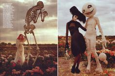 Definitely some Nightmare Before Christmas vibes