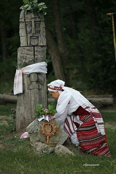 Ukrainian pagan tradition with <3 from JDzigner www.jdzigner.com