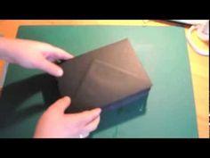Tuto Mini Album RAPIDE avec Enveloppes !! - YouTube