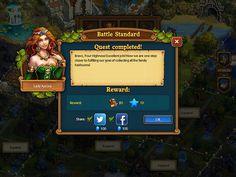 Mobile games Rewards: screenshots, UI