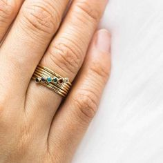 Dainty Stacking Rings | Simple & Dainty Diamond Ring Cuts, Soldering Jewelry, Dainty Ring, Solitaire Ring, Stacking Rings, Sterling Silver Rings, Rings For Men, Turquoise, Gold
