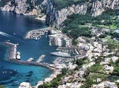 Capri, Italia.