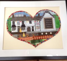 The Old Village Store Wolverley by Littlesewnhearts.