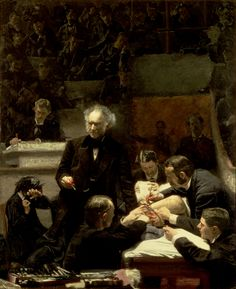 """An Eakins Masterpiece Restored: Seeing """"The Gross Clinic"""" Anew."""