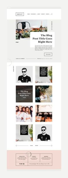 24 East | Branding + Web Design by Rowan Made