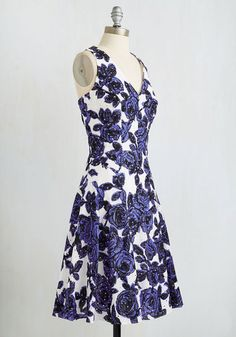Finesse What You Started Dress | Mod Retro Vintage Dresses | ModCloth.com