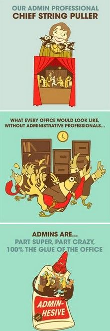 funny professional administrative day quotes  secretary