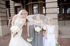 Photo by Kim. #MinneapolisWeddingPhotographer #Kids #KidsInWeddings #Bride